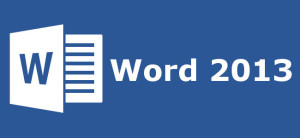 logo do Word 2013